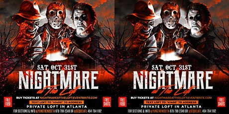 Nightmare at The Loft Halloween Costume Party! Free Shots, Food, & More! tickets