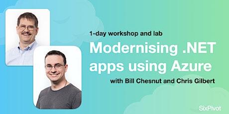 Modernising .NET apps using Azure tickets