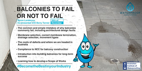 Balconies to Fail or Not to Fail? tickets