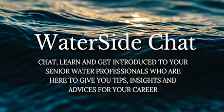 Waterside Chat with Dr. Elsayed Elbeshbishy tickets
