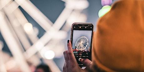 WebSession: Professionell fotografieren mit dem Smartphone Tickets