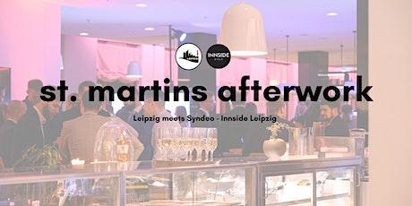 Leipzig meets St. Martins Afterwork im Syndeo - Innside Leipzig billets
