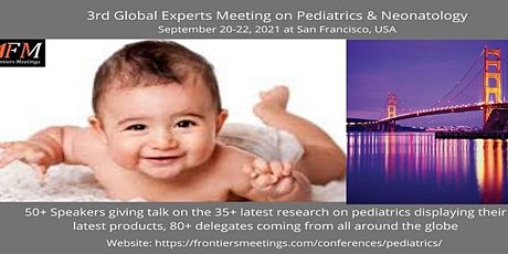 3rd Global Experts Meeting on Pediatrics & Neonatology tickets
