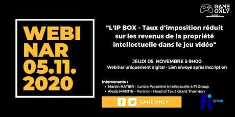 L'IP BOX - Taux d'imposition réduit sur les revenus de la PI billets