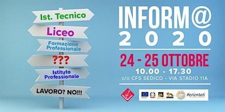 Inform@ 2020 biglietti