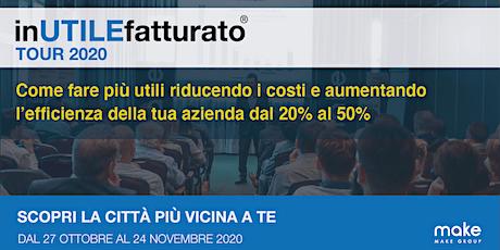 inUTILEfatturato - Treviso, 27/10/2020 biglietti