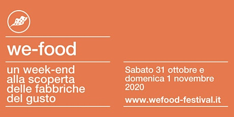 We-Food 2020 @ Ristorante Valbruna biglietti