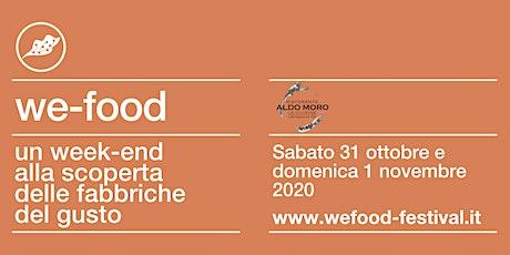 We-Food 2020 @ Hotel Ristorante Aldo Moro biglietti