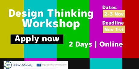 Free Workshop | Design Thinking for Urban Mobility Solutions tickets