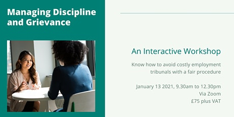 Managing Discipline and Grievance