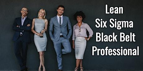Lean Six Sigma Black Belt Certification Training in San Jose tickets