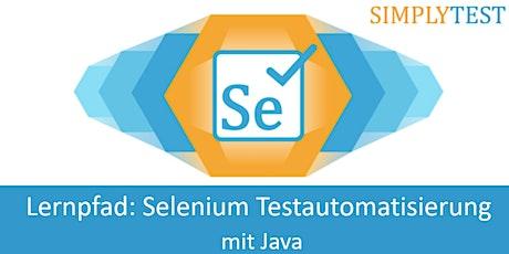 Lernpfad: Selenium Testautomatisierung mit Java Tickets