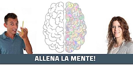 """""""Allena la mente"""" corso GRATUITO  29 OTTOBRE 2020  a Silea c/o Titian Inn biglietti"""