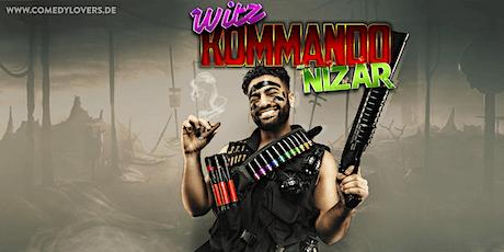 NIZAR - Witz Kommando Tickets