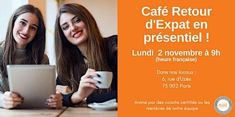 Café Retour d'Expat (en présentiel !) billets