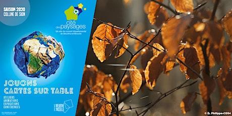 Bricolages natures d'automne billets