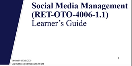 Social Media Marketing Courses | WSQ Certification | FREE Consultation tickets