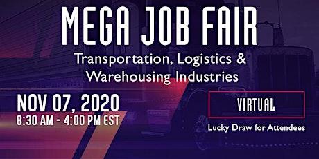 Virtual Mega Job Fair – Transportation, Logistics & Warehousing tickets