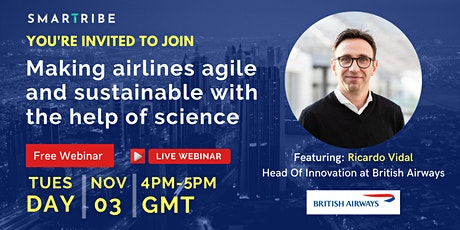 Making airlines agile and sustainable with the help of science tickets