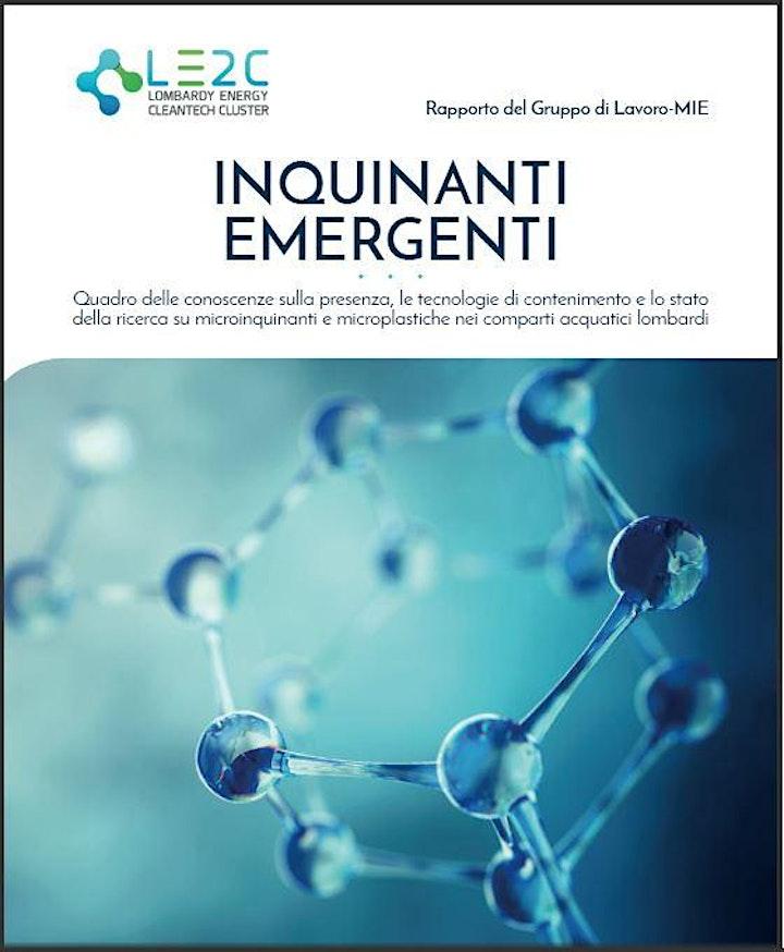 """Immagine REGISTRATI PER SCARICARE  IL REPORT """"Inquinanti Emergenti"""""""