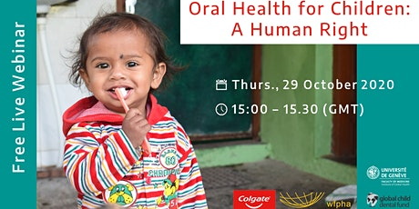 Child Oral Health as Human Right tickets