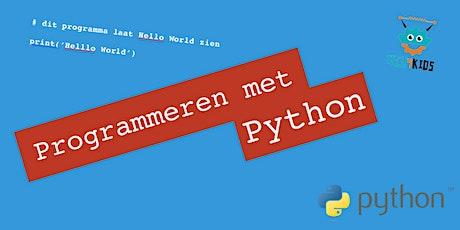 Programmeren met Python tickets