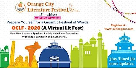 Orange City Literature Festival 2020 tickets