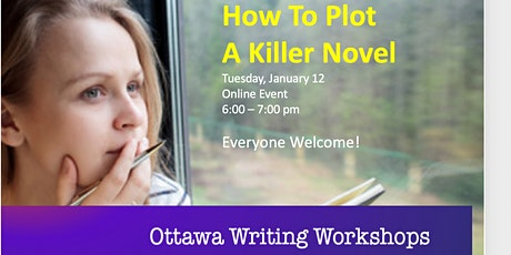 How To Plot A Killer Novel tickets