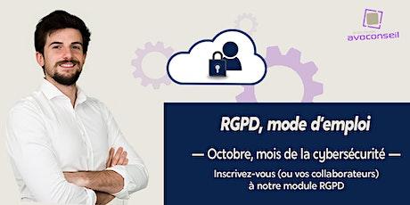 Formation | Apprendre la RGPD en 3 minutes par jour billets