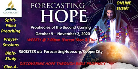Forecasting Hope : Prophecies of the Second Coming tickets