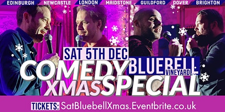 Comedy Christmas Special at Bluebell Vineyard! tickets