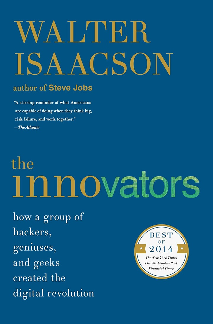 Book Review & Discussion : The Innovators image