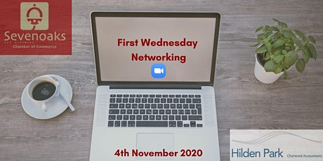 FIRST WEDNESDAY NETWORKING NOVEMBER tickets