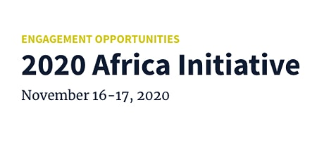 2020 Africa Initiative tickets