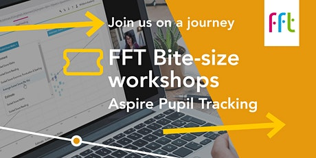 Aspire Pupil Tracking: Optional module 4a tickets