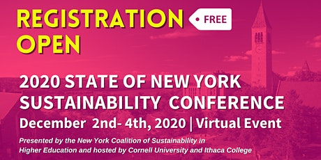 2020 State of NY Sustainability Conference tickets