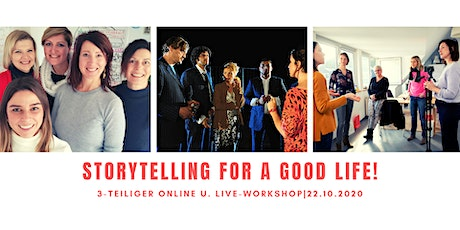 Storytelling for a good Life! Tickets