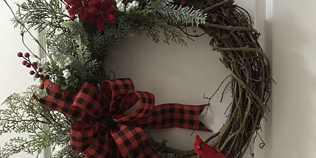 Christmas Grapevine Wreath Workshop tickets