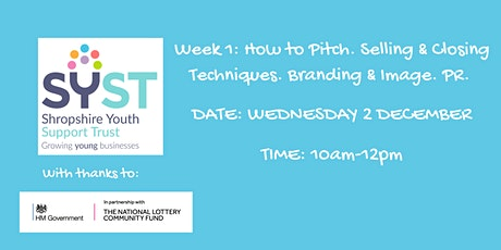 PR and Marketing Part 1:- Branding, PR & How to pitch your business tickets