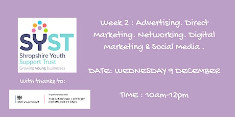 PR and Marketing Part 2:- Advertising, Networking & Digital Marketing tickets
