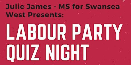 Fundraiser Quiz Night for Swansea West Labour tickets