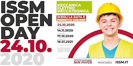 OPEN DAY / MECCANICA - ELETTRO - MECCATRONICA / 24.10.2020 biglietti