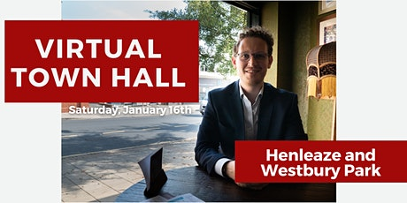 Virtual Town Hall: Henleaze and Westbury Park tickets