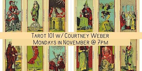 Tarot 101 w/ Courtney Weber tickets