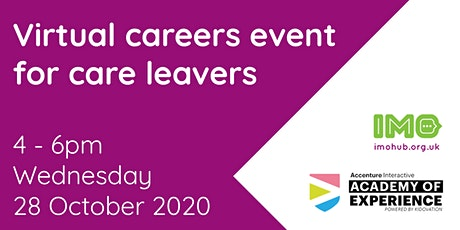 IMO x Accenture virtual careers event tickets