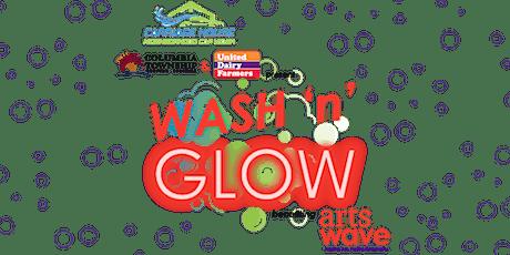 Wash 'n' Glow, to benefit ArtsWave tickets
