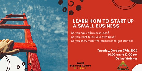 Learn how to start up a small business