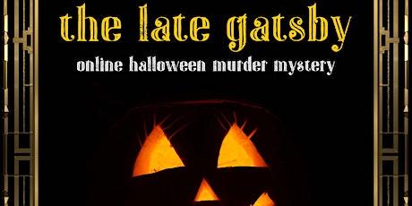 Online Halloween Murder Mystery - The Late Gatsby tickets