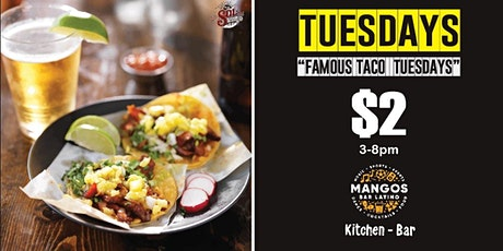 Taco Tuesday $2 Tacos  Downtown tickets