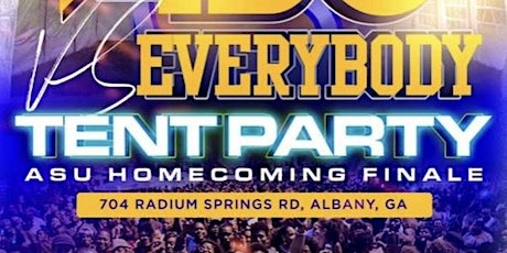 """TENT PARTY """" ASU VS EVERYBODY """" tickets"""